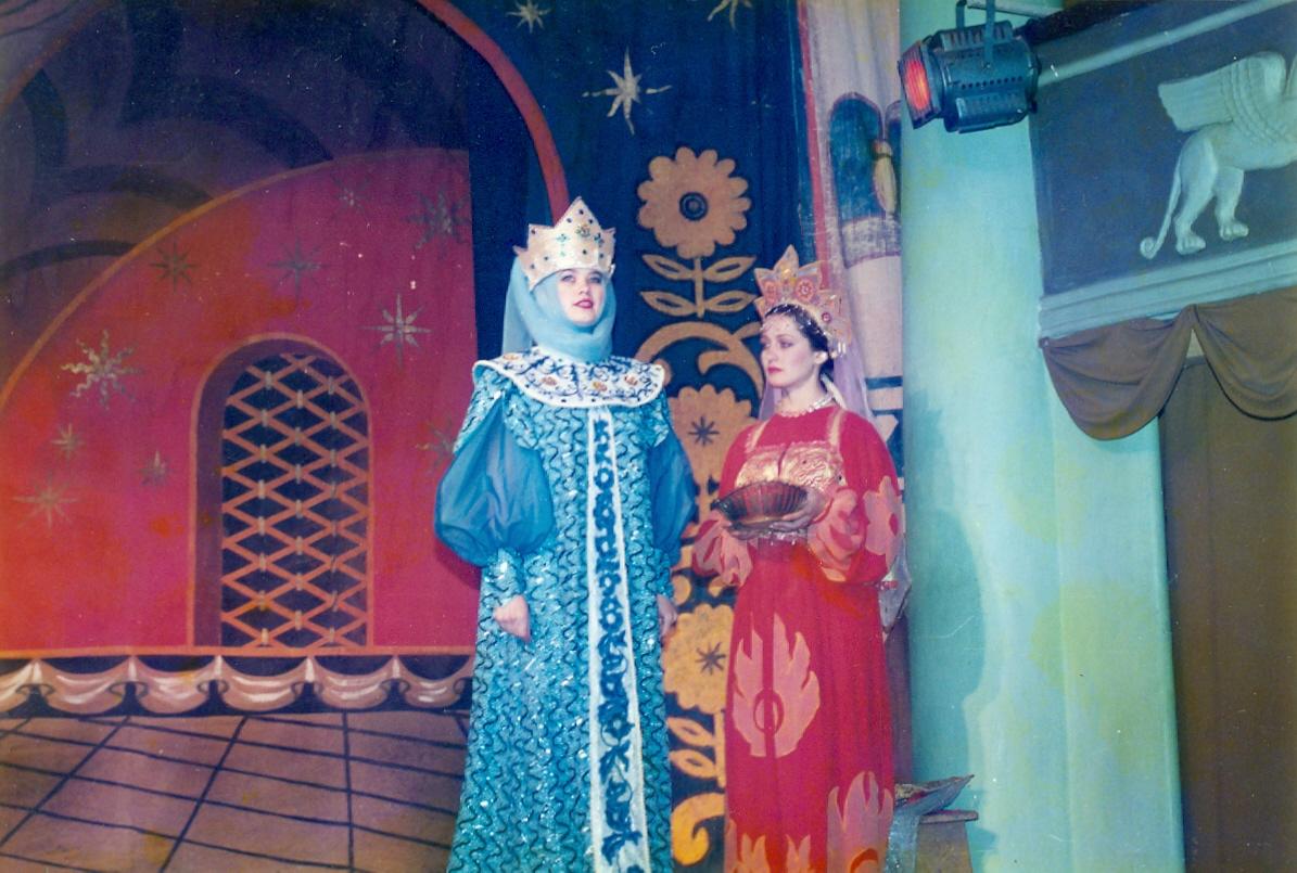 Сказка о мёртвой царевне. Сцена с царицей.