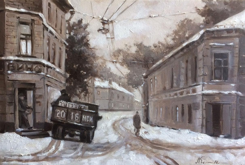 Картина маслом на продажу. Дмитрий Козлов, холст, масло.